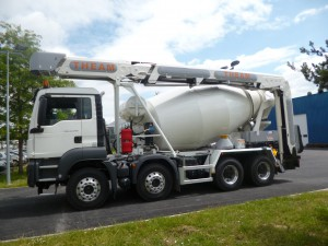 Camion malaxeur tdl 16.5