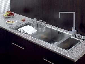 evier inox evolution 160 r2594rc. Black Bedroom Furniture Sets. Home Design Ideas