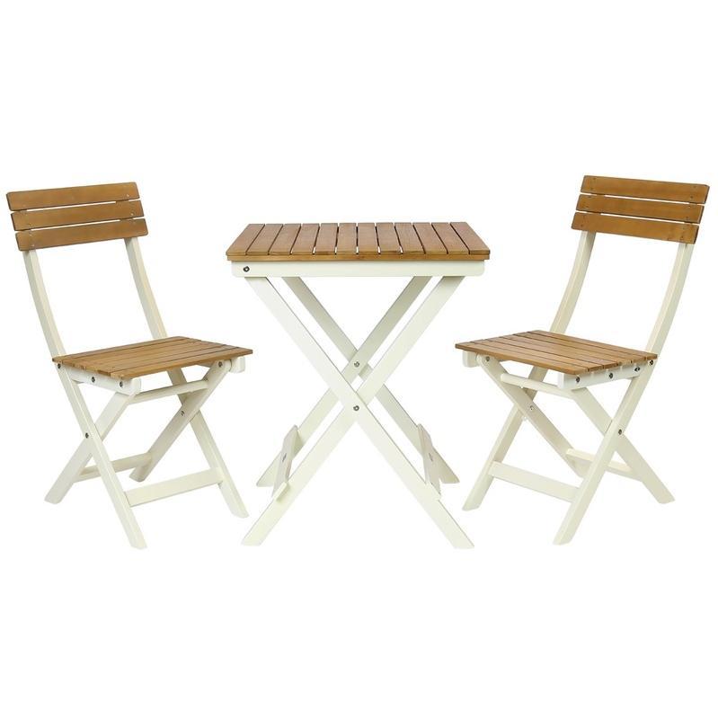 Salon de jardin en bois tous les fournisseurs de salon - Salon de jardin style bistrot ...