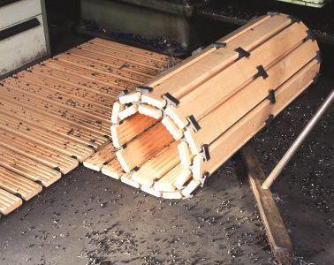 Caillebotis de sécurité en bois löw