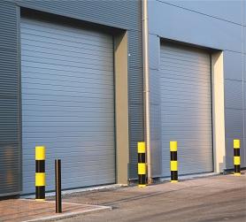 Portes sectionnelles industrielles tous les fournisseurs for Portail 4m50