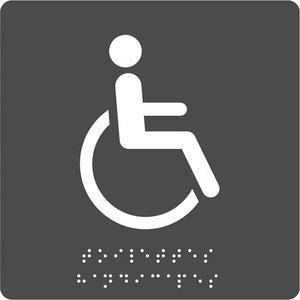 Pav plaq braille toilet hdp n/g 8055975