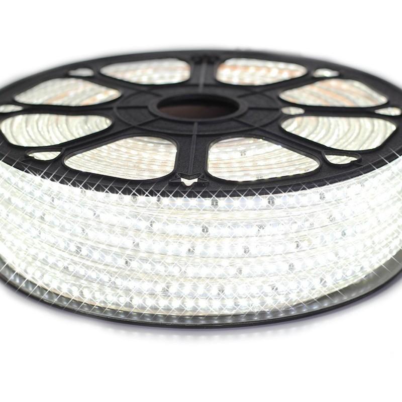 RUBAN LED PROFESSIONNEL EPISTAR 2835 120 LED/M DE 25 OU 50 MÈTRES BLANC FROID ÉTANCHE (IP68) | LONGUEUR: 25 MÈTRES - SYSLED