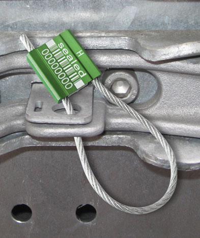 Scellé de sécurité unisto metalo 38