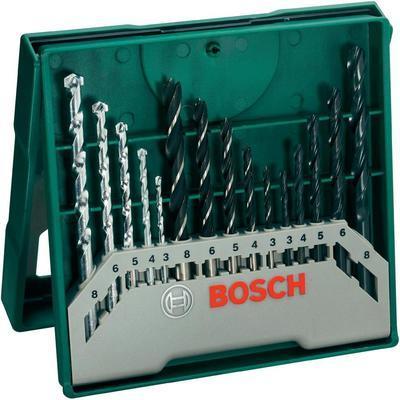 Set de 3 forets à béton SDS Quick diamètre 5 6 8 mm Bosch