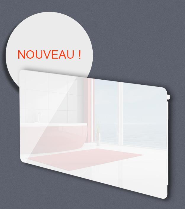 Achat vente de comparez les prix sur hellopro fr - Radiateur electrique facade verre ...