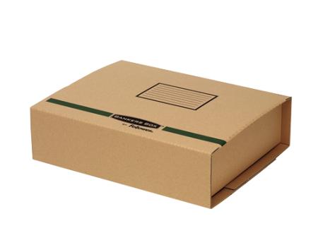 Bo tes postales fellowes achat vente de bo tes - Boite en carton recycle ...