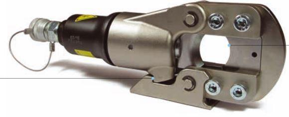 Têtes coupe-câbles hydrauliques