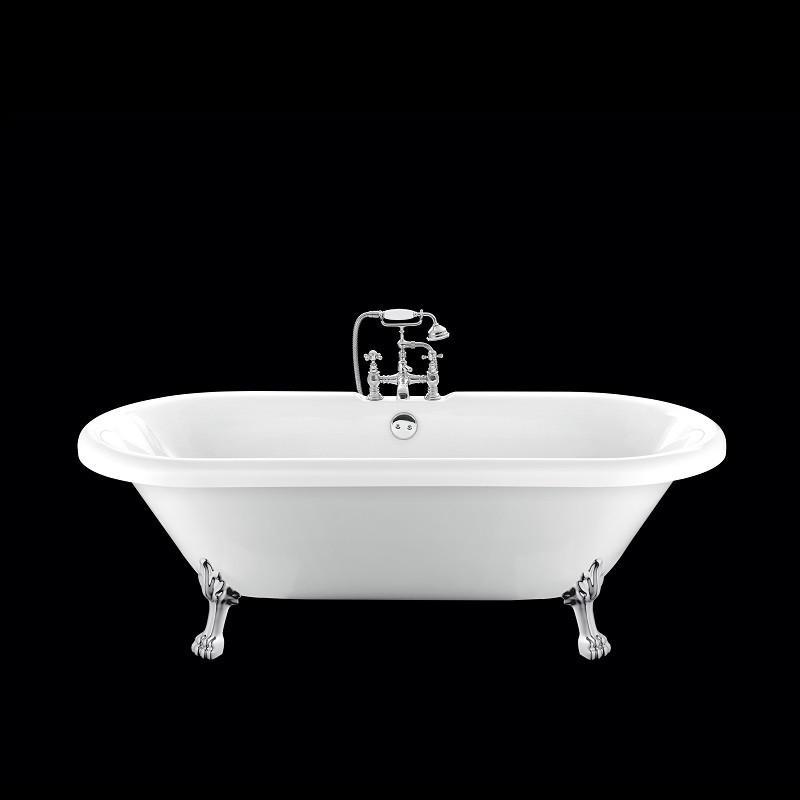 baignoire ancienne chelsea 170 blanche avec pattes de lion chrom es comparer les prix de. Black Bedroom Furniture Sets. Home Design Ideas