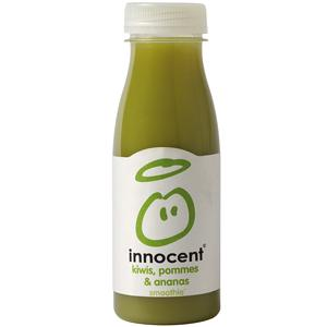 Innocent smoothie kiwis pommes ananas bouteille 25 cl