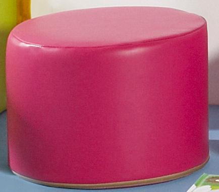 Pouf cylindrique poussin hauteur d 39 assise 30 cm pvc - Hauteur assise canape ...