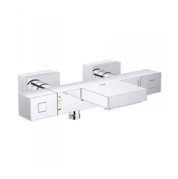 grohtherm cube mitigeur thermostatique bain douche 1 2 34497000 grohe comparer les prix de. Black Bedroom Furniture Sets. Home Design Ideas