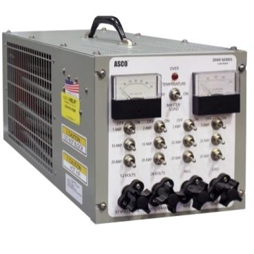 Asco 2200-banc de charge tenu à la main   cc   150 a   26 à 52 vcc