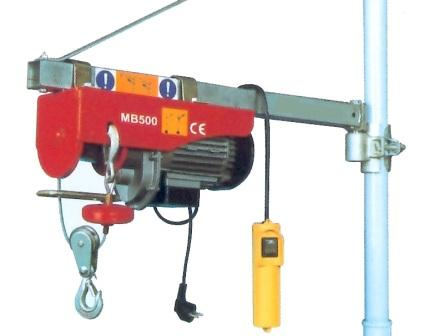 Mini palan treuil 220 volts for Prix monte charge