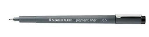 staedtler feutre a pointe fine pigment liner noir largeur reference 5655057. Black Bedroom Furniture Sets. Home Design Ideas