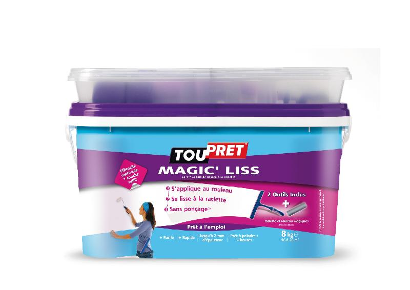 MAGIC LISS 8 KG + KIT - TOUPRET