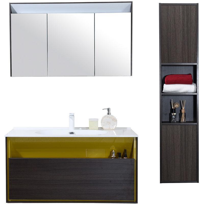 colonne de rangement de salle de bain tous les. Black Bedroom Furniture Sets. Home Design Ideas