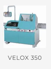 Tronçonneuse à fraise-scie automatique / semi-automatique électronique - velox 350 af-e