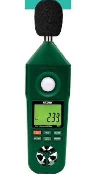 Anémo-thermo-hygro-sono-luxmètre en300