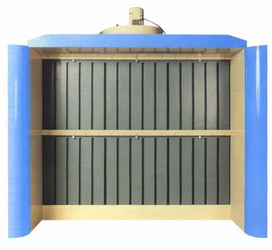 cabine de vernissage a filtre sec cs 4 a cs 8. Black Bedroom Furniture Sets. Home Design Ideas