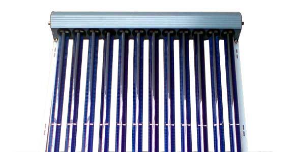 Capteur solaire thermique a fluide tube sous vide gamme for Capteur solaire sous vide