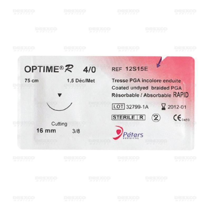 Fil de suture optime r - peters (boite de 36) réf : 61034