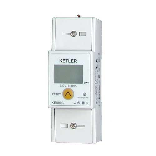 KETLER COMPTEUR D'ÉNERGIE 80A MONOPHASÉ - KE8003 - KETLER