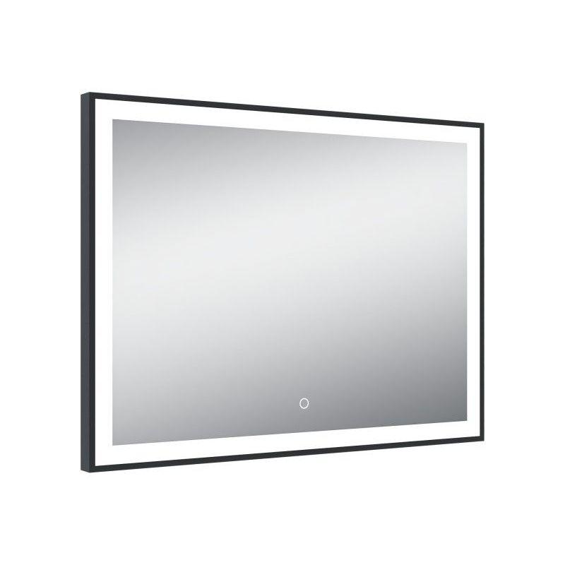 Miroir De Salle De Bains Avec Eclairage Led Modele Black Mirror