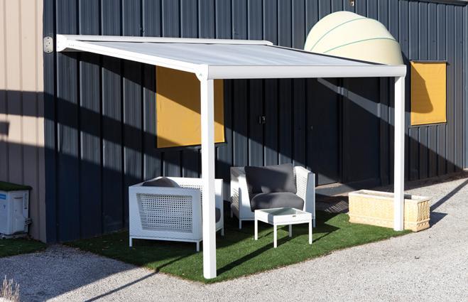 tonnelle moderne alu stunning photo pergola aluminium xm avec toile coulissante rtractable with. Black Bedroom Furniture Sets. Home Design Ideas
