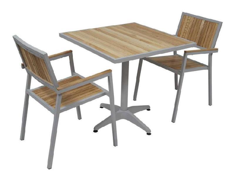 Table d 39 ext rieur en aluminium tous les fournisseurs de - Table et chaise jardin ...