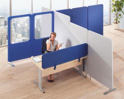 cloisons acoustiques modulaires premium hauteur panneau 1800 mm largeur 1000 mm bleu comparer. Black Bedroom Furniture Sets. Home Design Ideas
