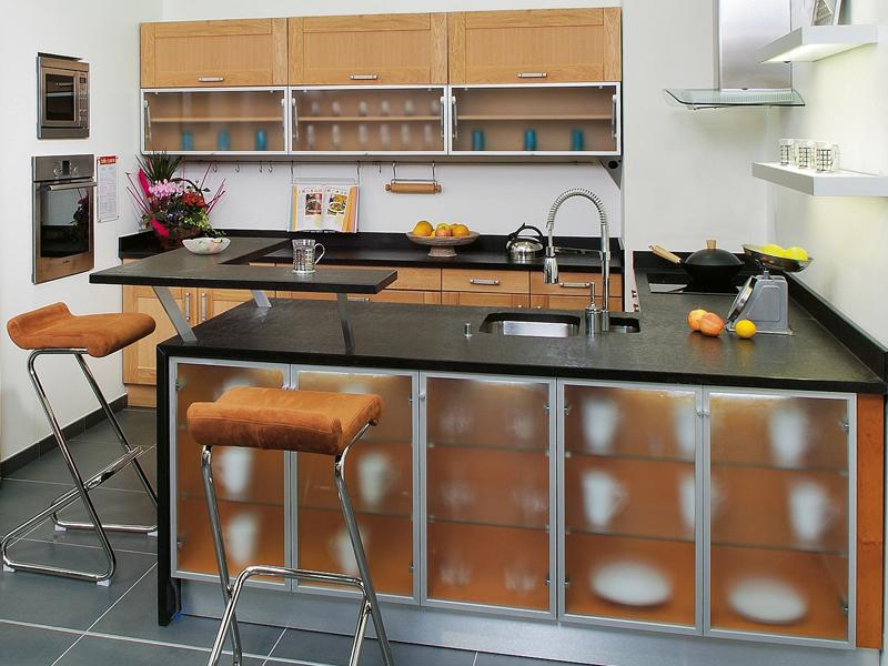 Photo Cuisine En Aluminium Au Maroc : Cuisine contemporaine aluminium deco maison moderne