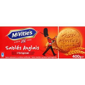 MC VITIE'S BISCUITS SABLÉS ANGLAIS ORIGINAL 400 G