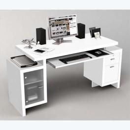Bureau multimedia petit bureau pour ordinateur Lepolyglotte