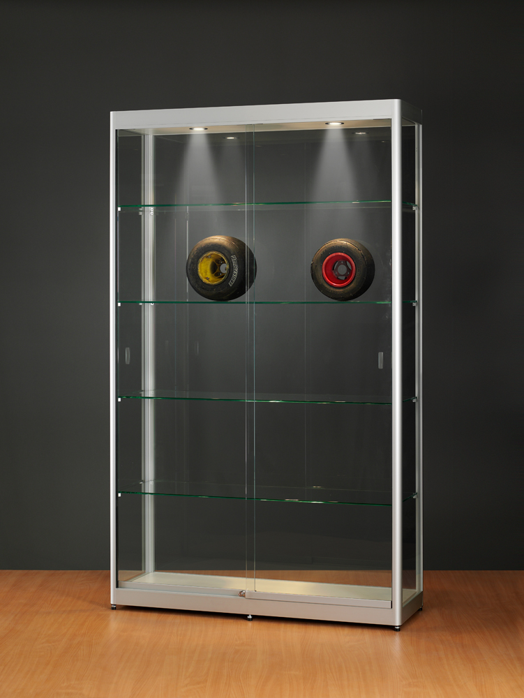 Vitrine armoire en verre trempe : sv120 on