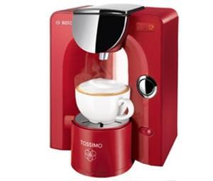 BOSCH MACHINE À CAFÉ TASSIMO TAS5546 - ROUGE