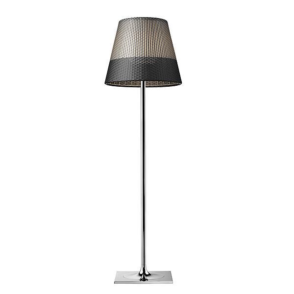 Ktribe panama lampadaire d 39 ext rieur chrome gris h183cm for Solde luminaire exterieur