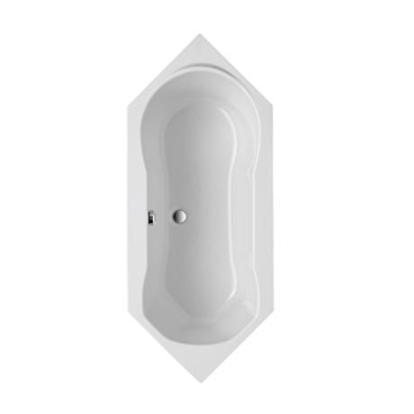 baignoire d 39 angle acrylique blanc 190x80cm gallo comparer. Black Bedroom Furniture Sets. Home Design Ideas