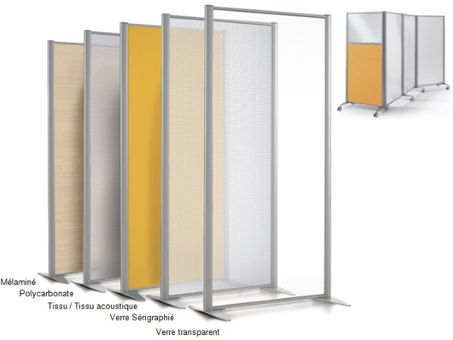 cloison k plus melamine tissu verre acoustique l. Black Bedroom Furniture Sets. Home Design Ideas