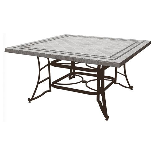 Table plateau travertin carre - Plateau table carre ...