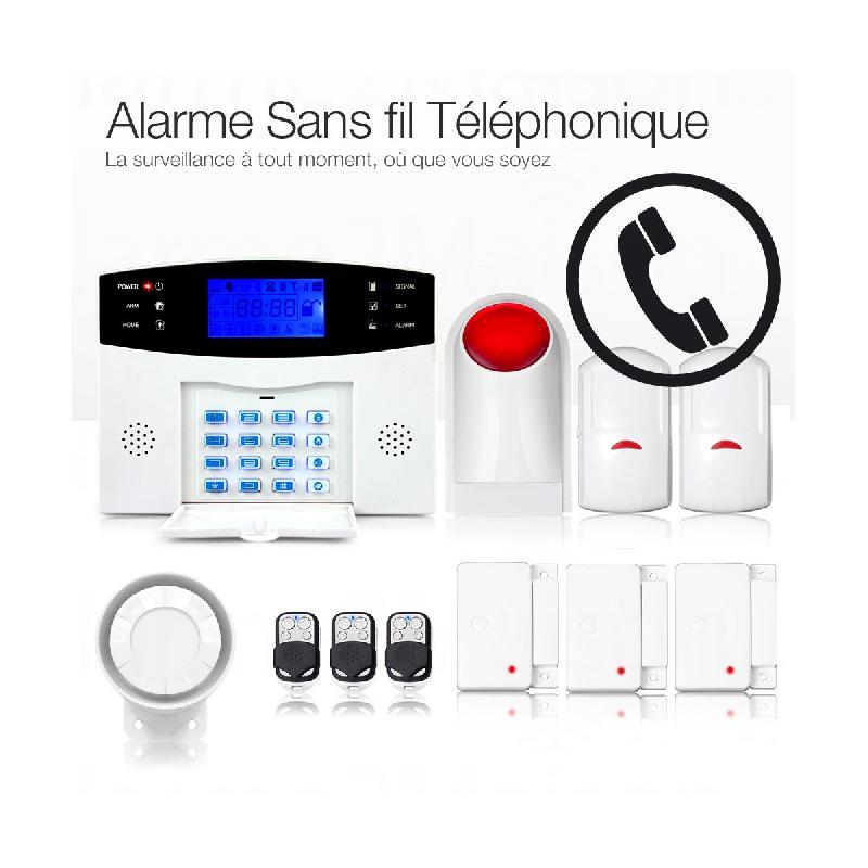 alarme anti intrusion alarme2maison achat vente de. Black Bedroom Furniture Sets. Home Design Ideas