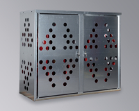 armoire pour bouteilles de gaz. Black Bedroom Furniture Sets. Home Design Ideas