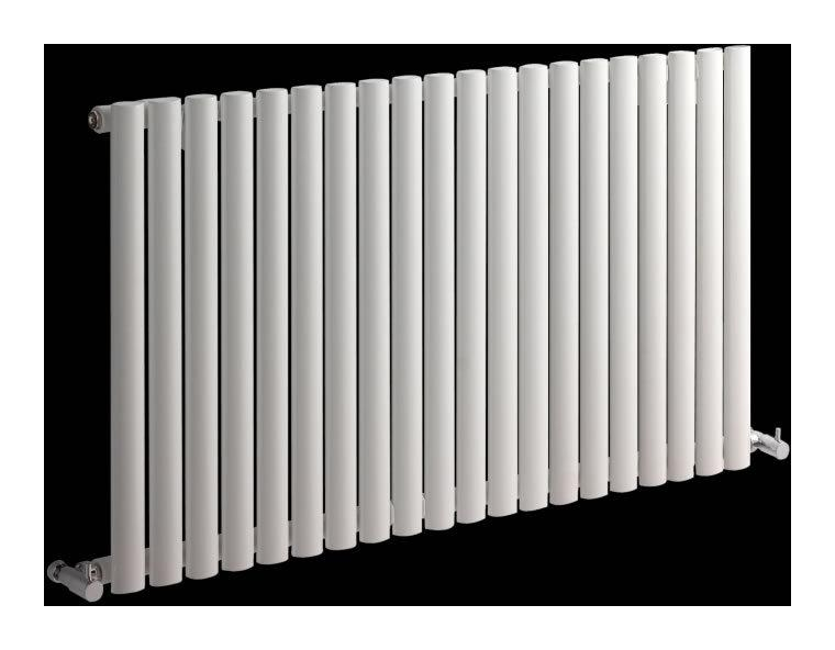 radiateur design horizontal blanc vitality 63 5cm x 118cm x 3cm 1194 watts hudson reed. Black Bedroom Furniture Sets. Home Design Ideas