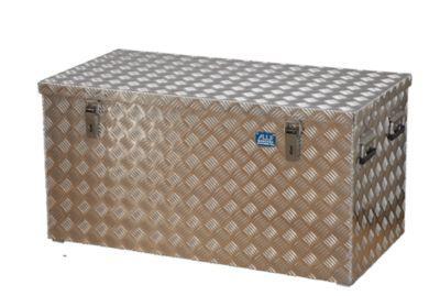 caisse de transport en t le stri e d 39 aluminium capacit 250 l l x l x h 1022 x 525 x 520 mm. Black Bedroom Furniture Sets. Home Design Ideas
