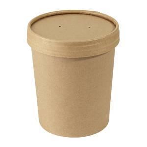 gobelet a soupe avec couvercle contenance 0 65 l papier dur. Black Bedroom Furniture Sets. Home Design Ideas
