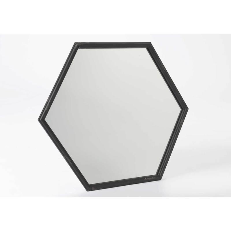 Miroirs d coratifs comparez les prix pour professionnels for Miroir hexagonal