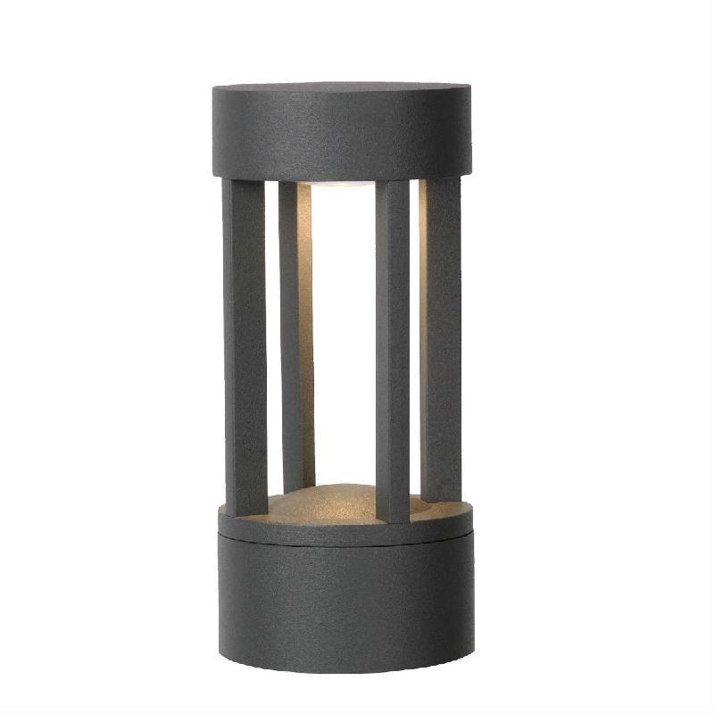 Borne lumineuse lucide achat vente de borne lumineuse for Luminaire exterieur noir