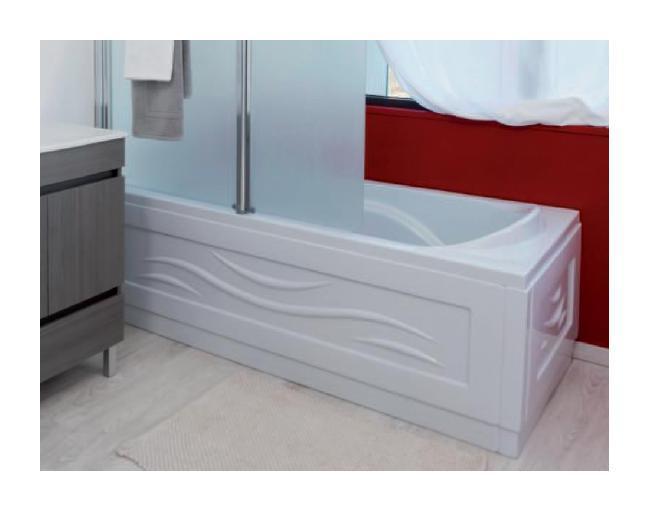 Aqua baignoire acrylique fany 170x80 lt aqua for Baignoire acrylique prix