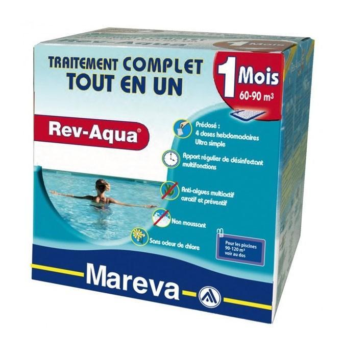 REV-AQUA 60/90 M3 - 1 MOIS DE MAREVA - CATÉGORIE PRODUITS CHIMIQUES