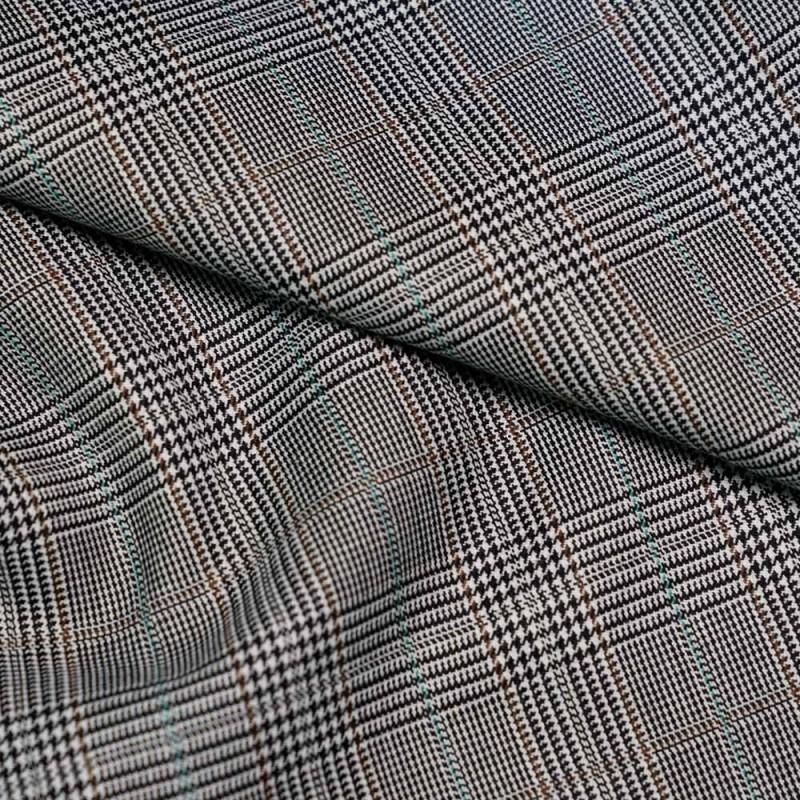 tissu lainage prince de galles x 10cm. Black Bedroom Furniture Sets. Home Design Ideas